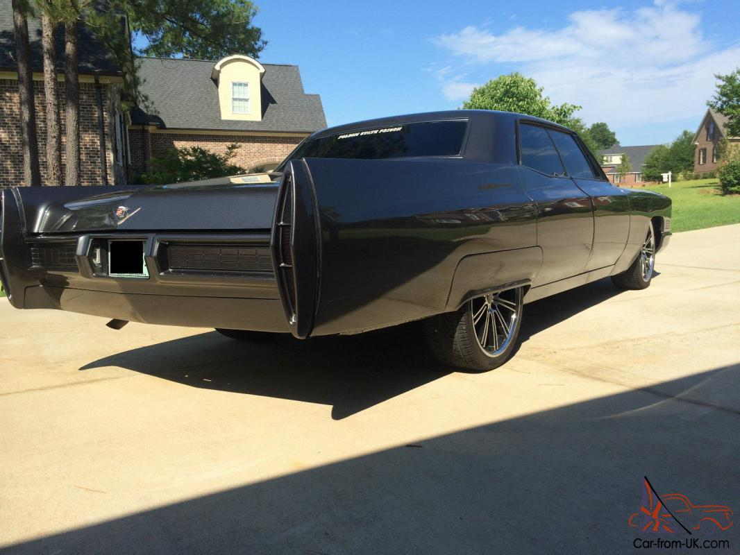 1967 cadillac deville base hardtop 4 door 7 0l. Black Bedroom Furniture Sets. Home Design Ideas