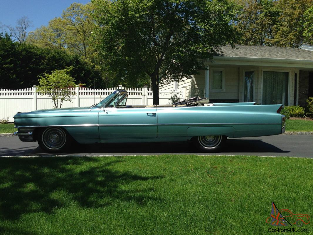 1956 cadillac interior related keywords amp suggestions - 1963 Cadillac Coupe Deville Convertible In Light Blue