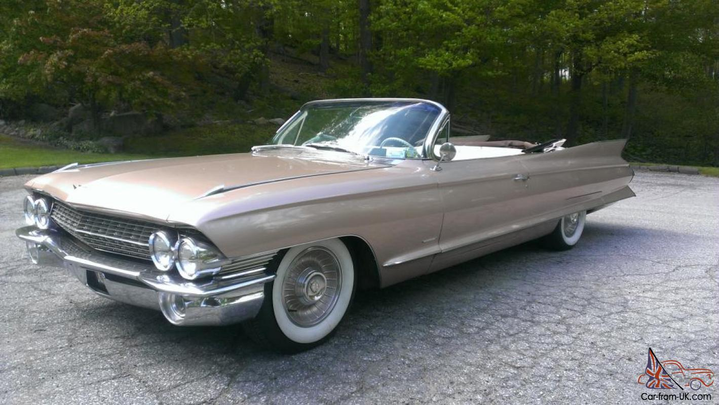 Gorgeous, Rare 61 Cadillac Convertible, 84k, Like New, Not 1959 1960