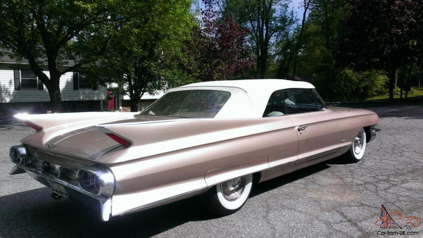 Gorgeous Rare 61 Cadillac Convertible 84k Like New Not