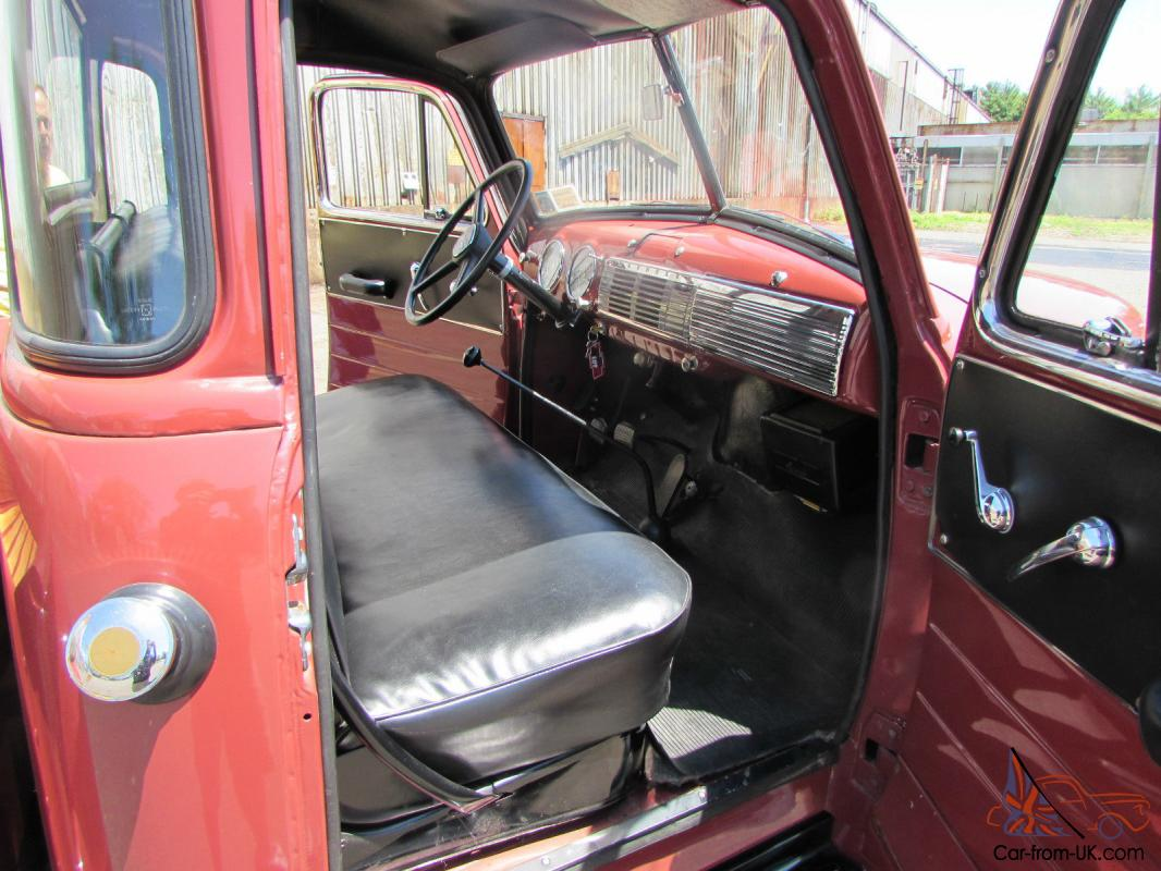 1952 chevrolet pick up 5 window excellent paint interior. Black Bedroom Furniture Sets. Home Design Ideas