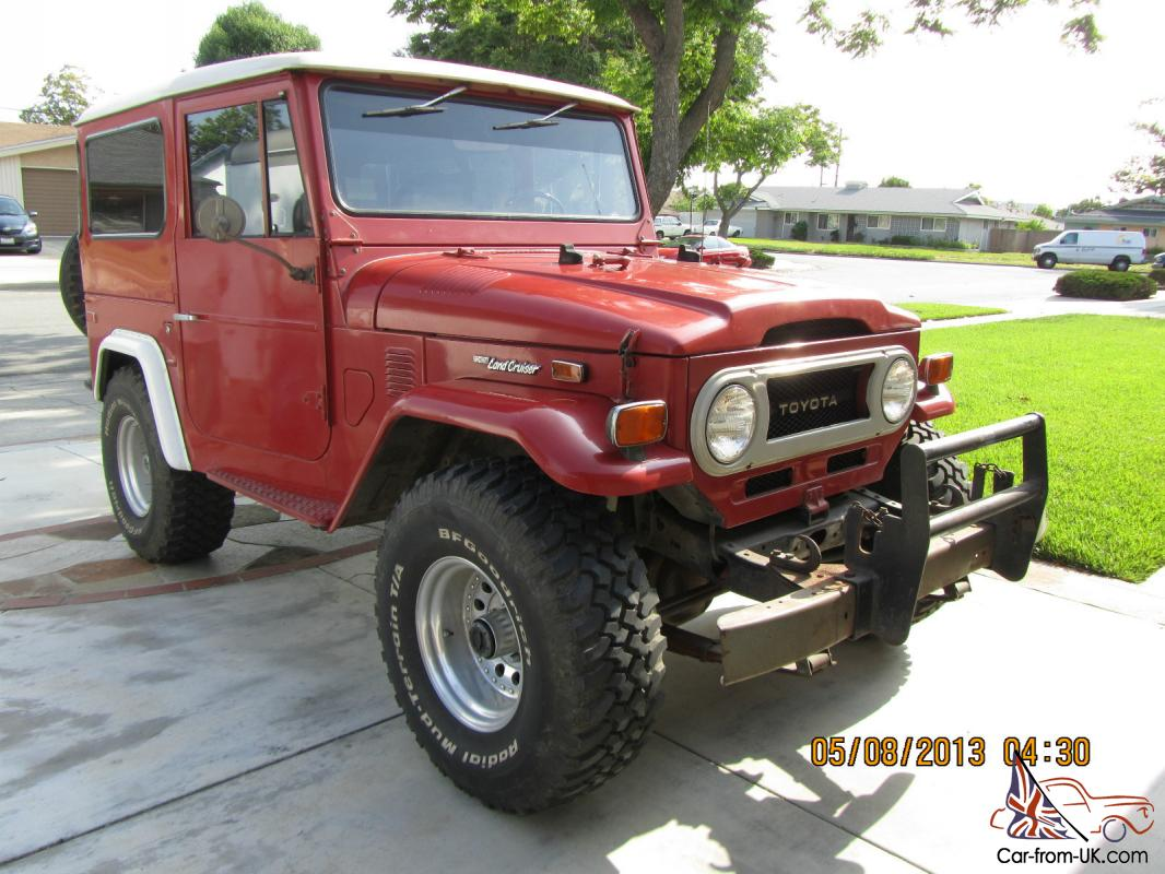 1974 TOYOTA LAND CRUISER FJ40 ORIGINAL OWNER LOW MILES