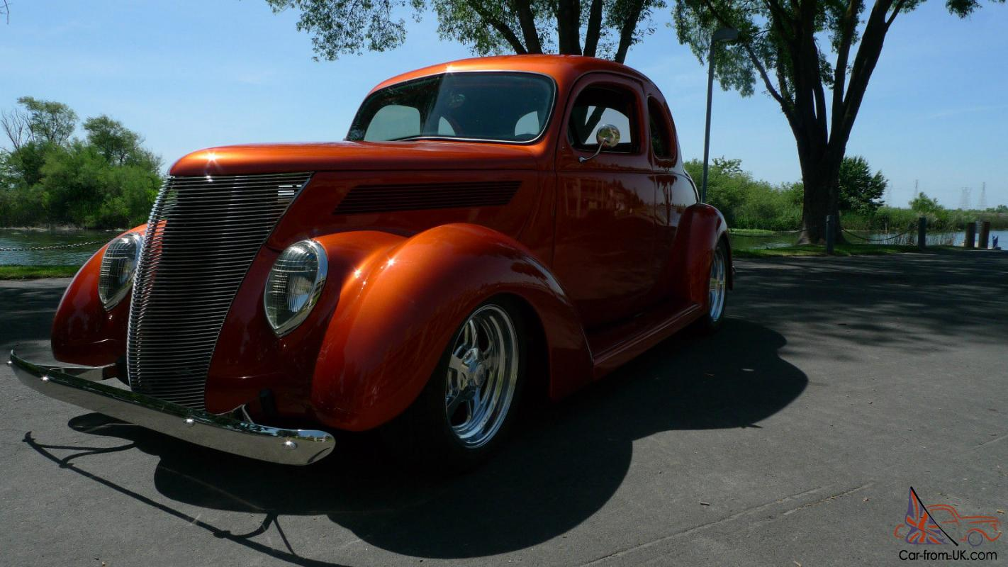 """1937 Dodge Coupe Street Rod Project Car For Sale: 1937 FORD 5 WINDOW CUSTOM COUPE """"SHOW CAR"""" AWSOME STREET ROD"""