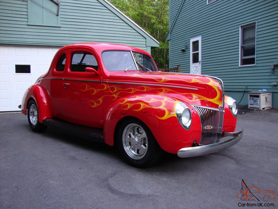 All steel real deal 1940 ford coupe street rod loaded no 32 33 34 for