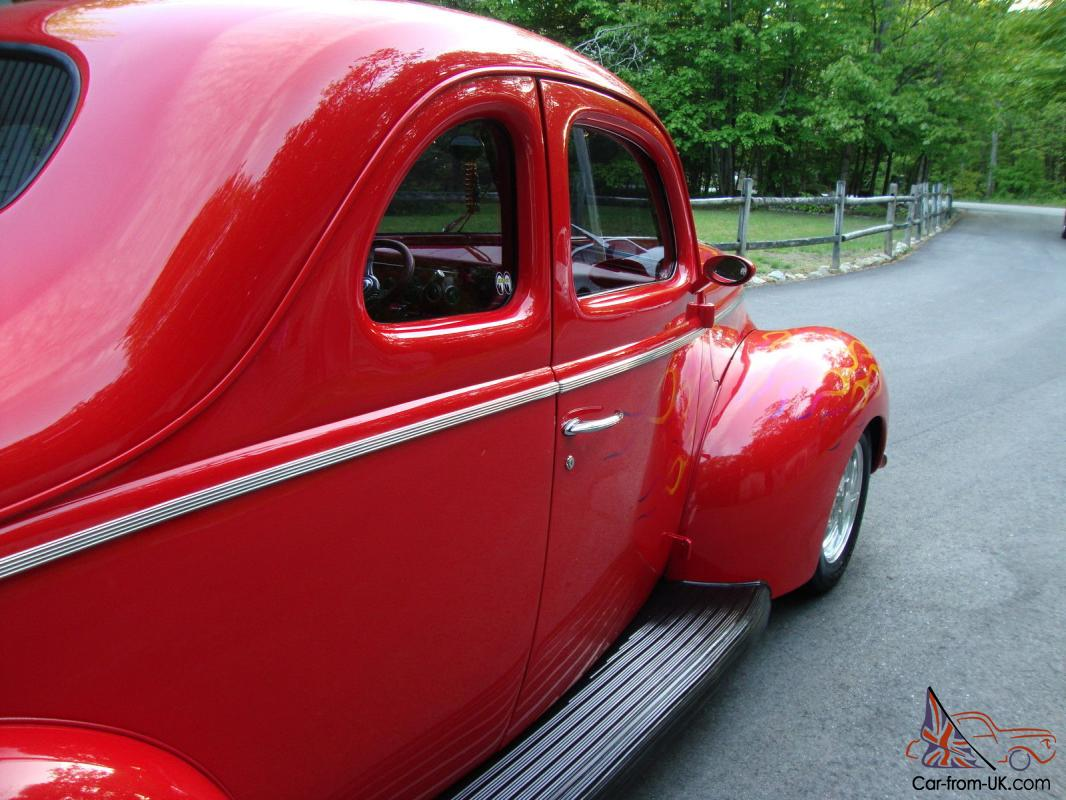 All steel real deal 1940 ford coupe street rod loaded no 32 33 34