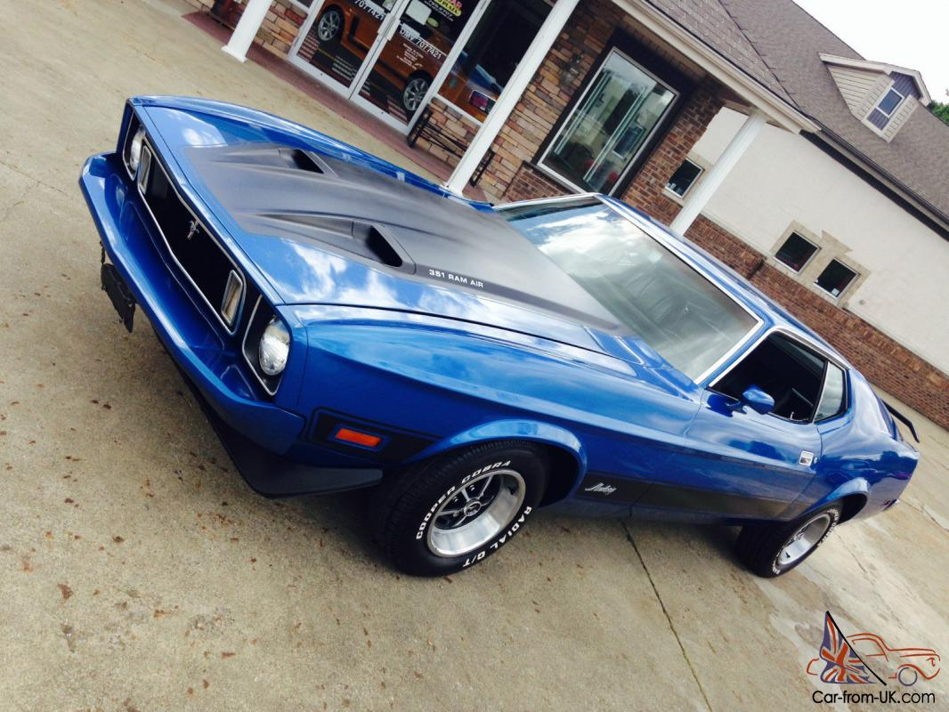 1973 Ford Mustang Mach 1 351 Ram Air 100 Photos To