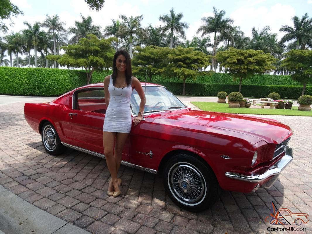 1965 mustang v8 fastback low miles 65570 photo