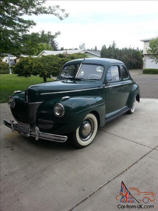 Original 1941 ford coupe super deluxe no reserve for 1941 ford super deluxe 4 door sedan