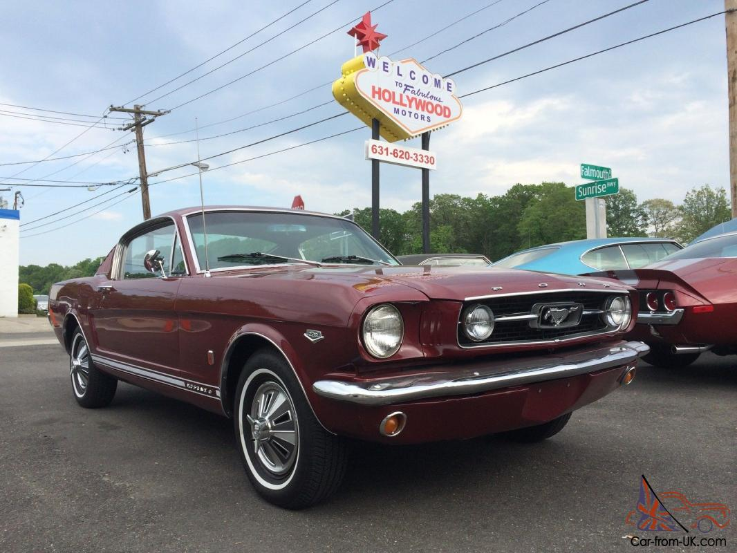 1966 mustang manual transmission for sale