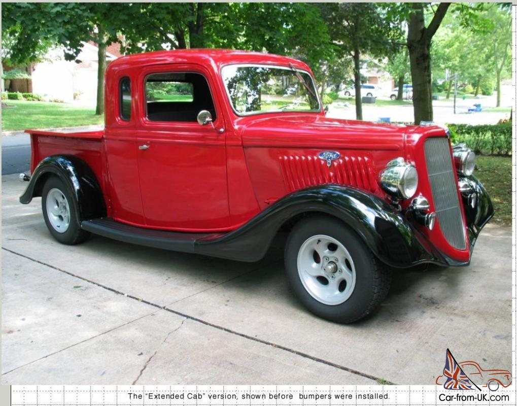 1935 ford extended cab pick up. Black Bedroom Furniture Sets. Home Design Ideas
