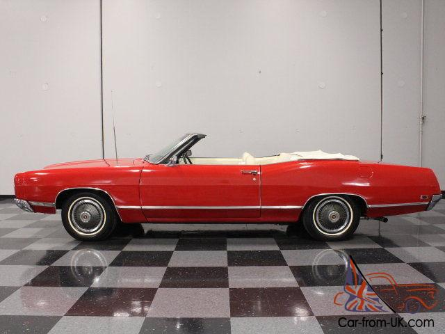 390 ci bright red finish power top factory air great drop top for the summer. Black Bedroom Furniture Sets. Home Design Ideas