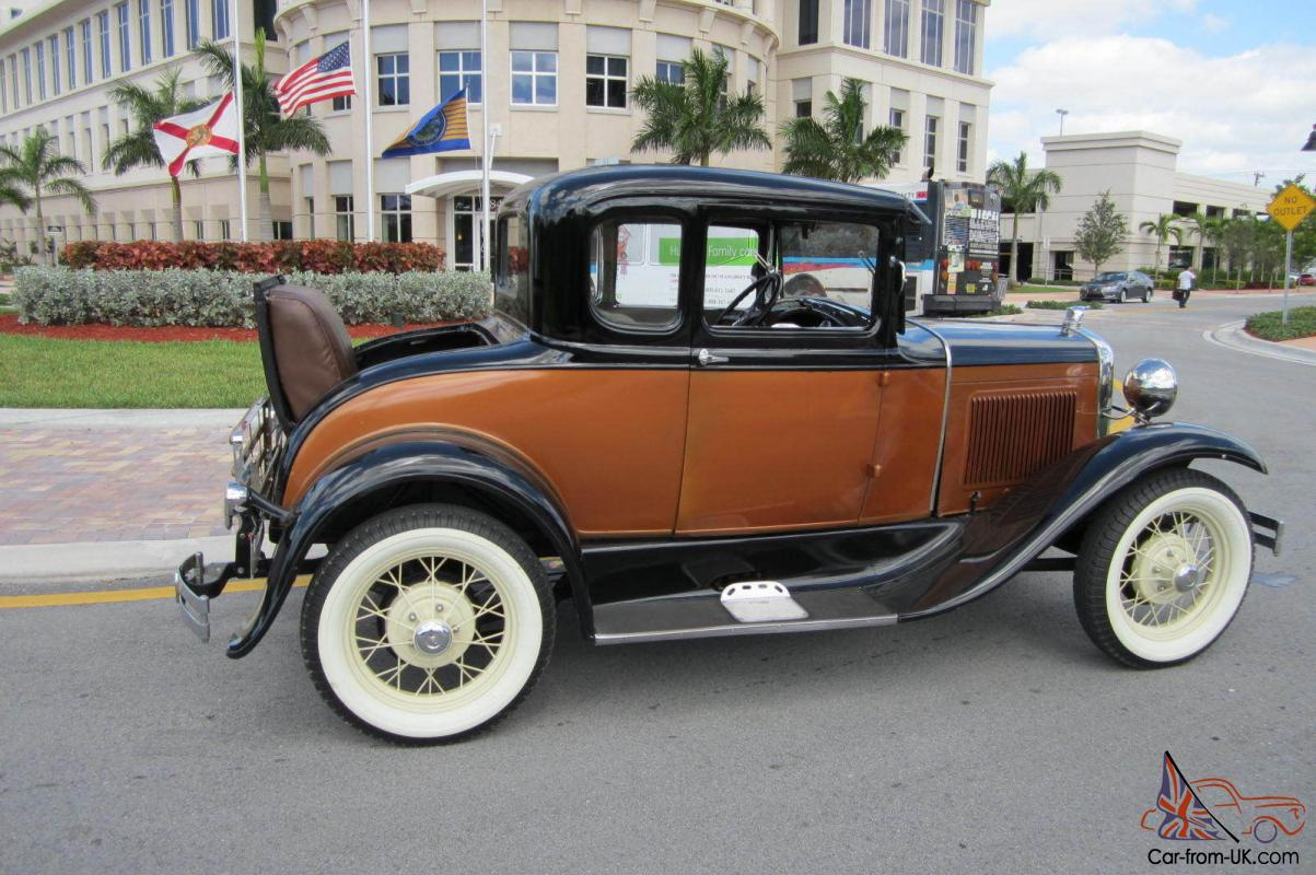 1930 ford model a rumble seat coupe. Black Bedroom Furniture Sets. Home Design Ideas