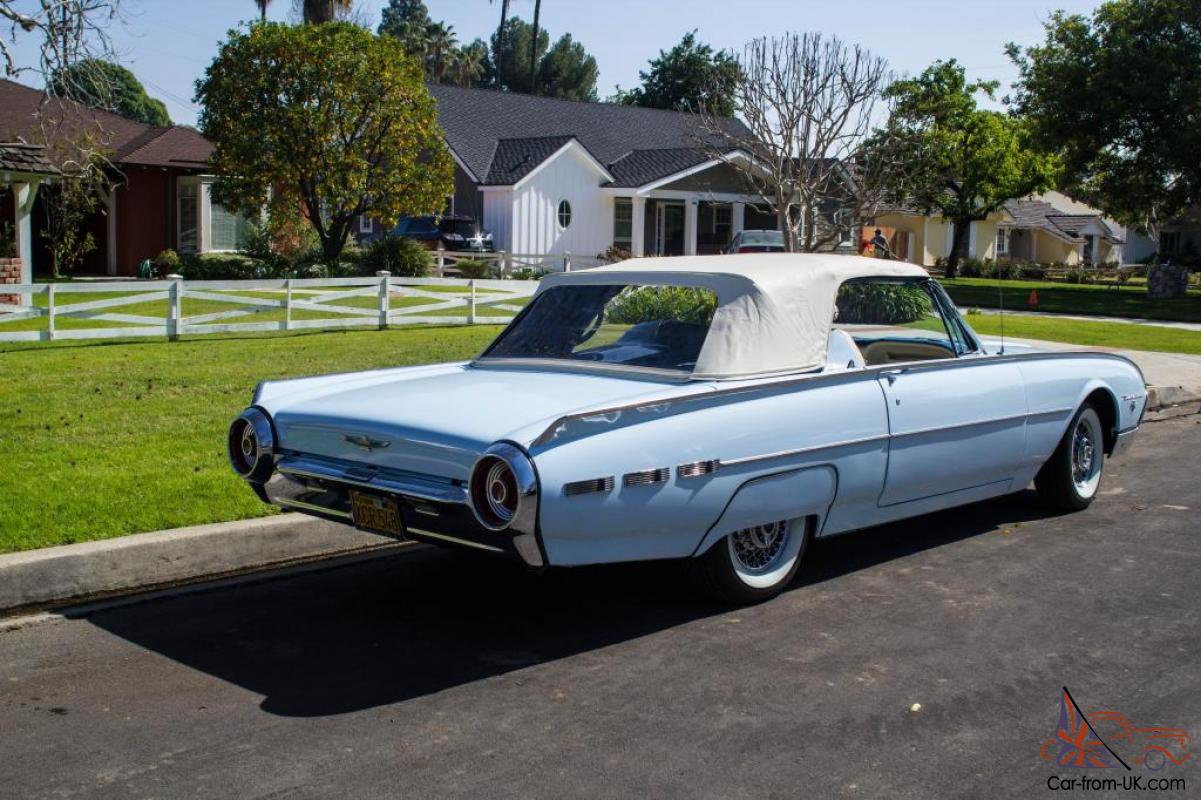 1962 ford thunderbird 2dr convertible. Cars Review. Best American Auto & Cars Review