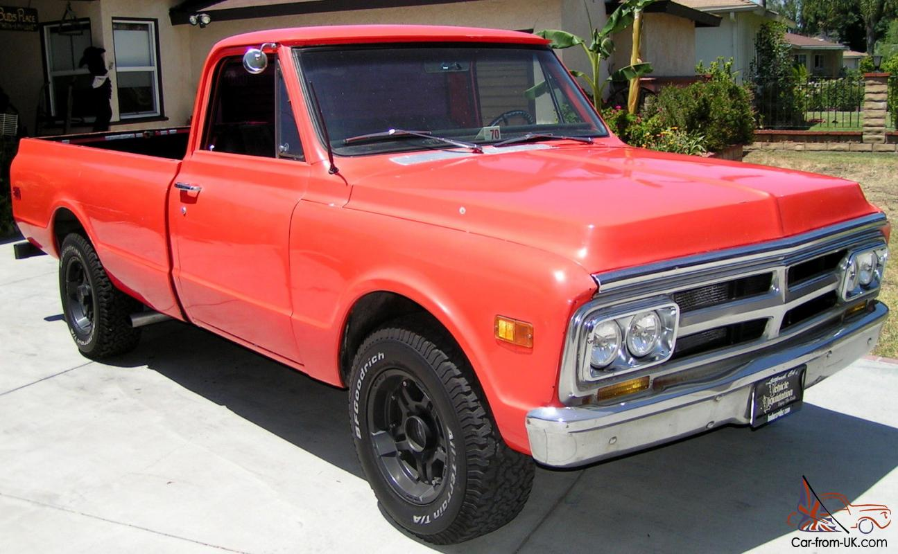1970 GMC C20 Hot Rod 383 stroker motor