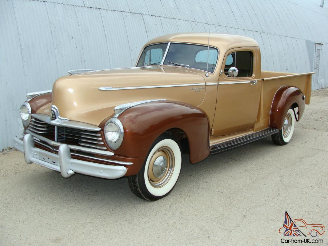 1947 HUDSON BIG BOY PICKUP . TEXAS