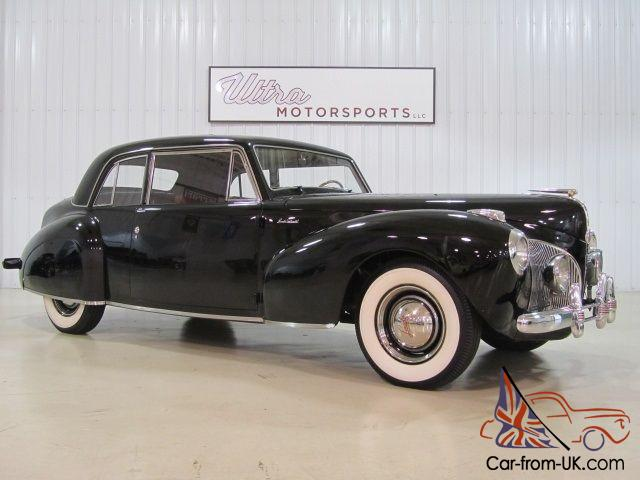 1941 lincoln continental v12 museum quality. Black Bedroom Furniture Sets. Home Design Ideas