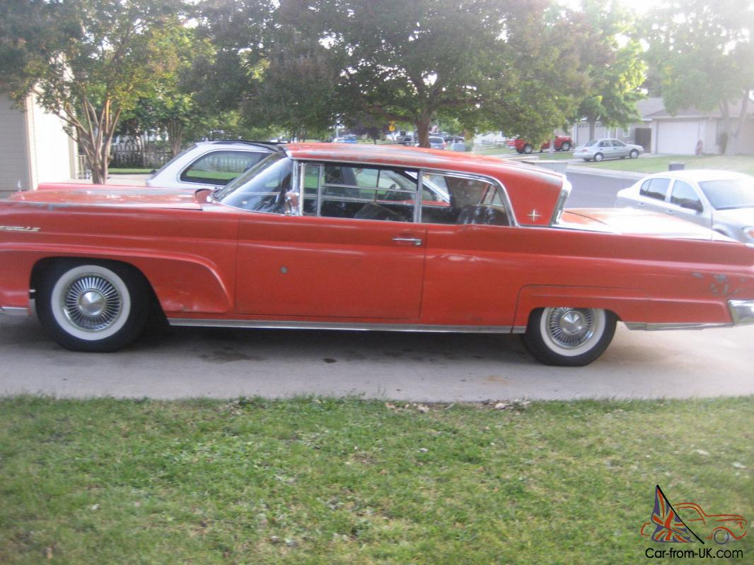 1958 Lincoln Continental Mark Iii 2 Door Coupe 430 Motor Automatic