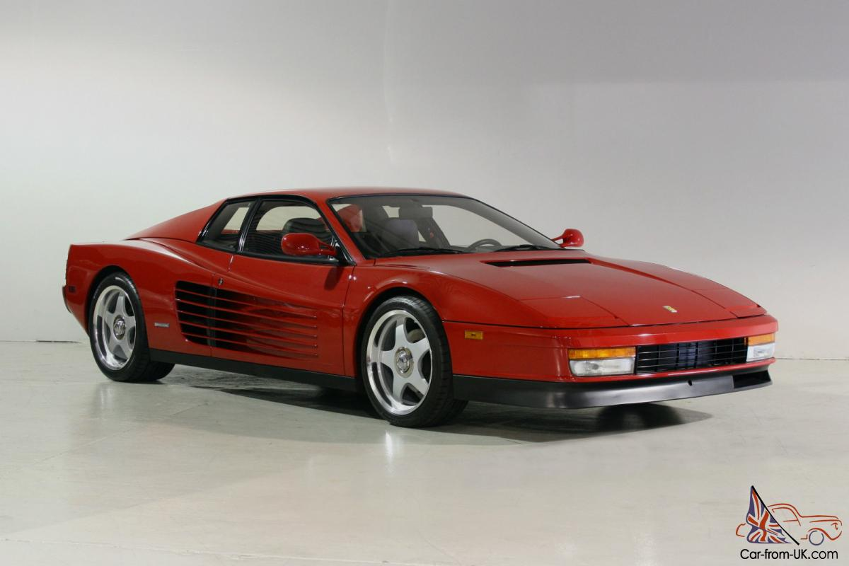 ferrari testarossa in great condition no reserve. Black Bedroom Furniture Sets. Home Design Ideas