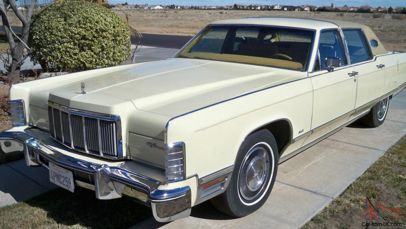 1976 Lincoln Continental Town Car 34000 Original Miles
