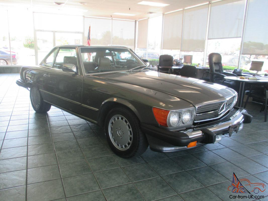 1987 mercedes benz 560sl clean and straight only 79 000 for 1987 mercedes benz 560sl parts