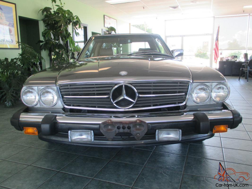 1987 mercedes benz 560sl clean and straight only 79 000 for Mercedes benz 1987