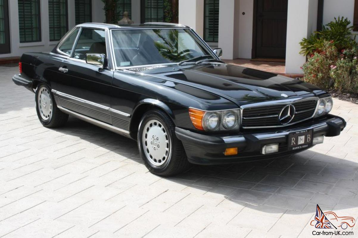 1987 mercedes benz 560sl one owner for Mercedes benz owners