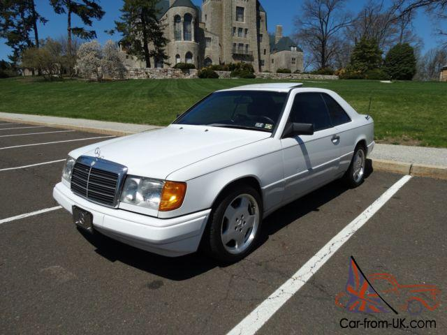 1989 mercedes benz w124 coupe hardtop newer engine transmission rare. Black Bedroom Furniture Sets. Home Design Ideas