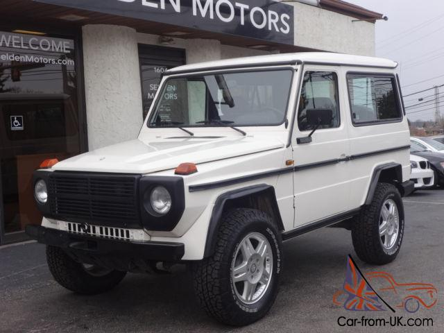 1988 mercedes g wagon 280 ge 280ge 5 speed manual for Mercedes benz 280 ge