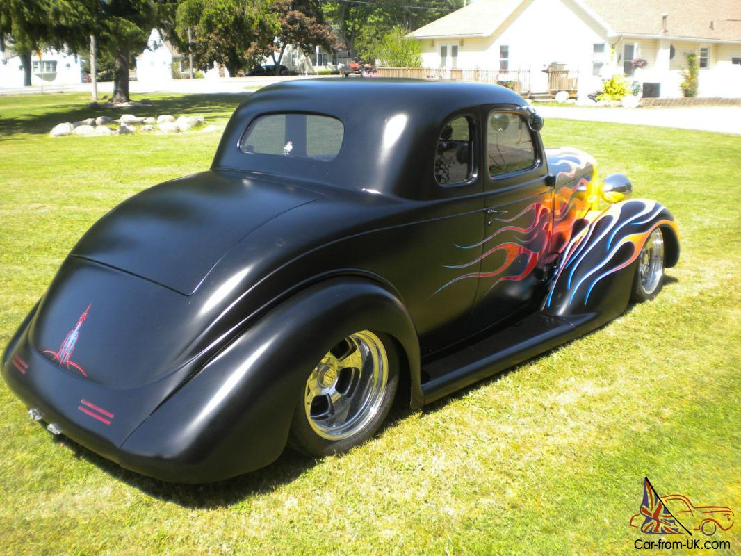 1935 plymouth 5 window traditional hot rod all steel fat