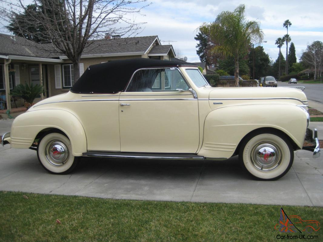 1941 Plymouth Convertible 100 Point Concours Restoration Drive 4 Door Sedan Anywhere
