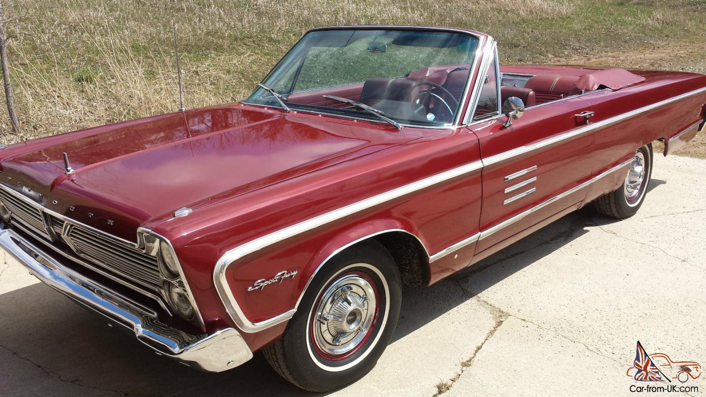 1966 plymouth sport fury convertible. Black Bedroom Furniture Sets. Home Design Ideas