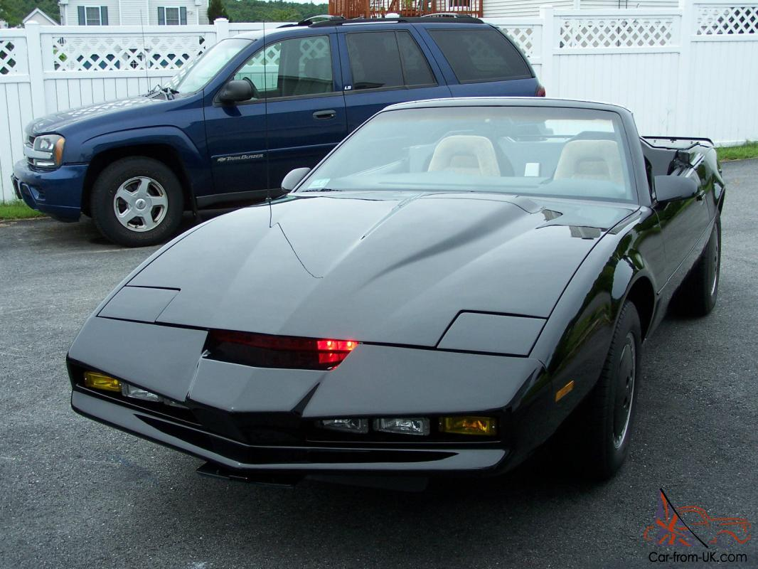 1984 Trans Am Knight Rider Kitt Convertible