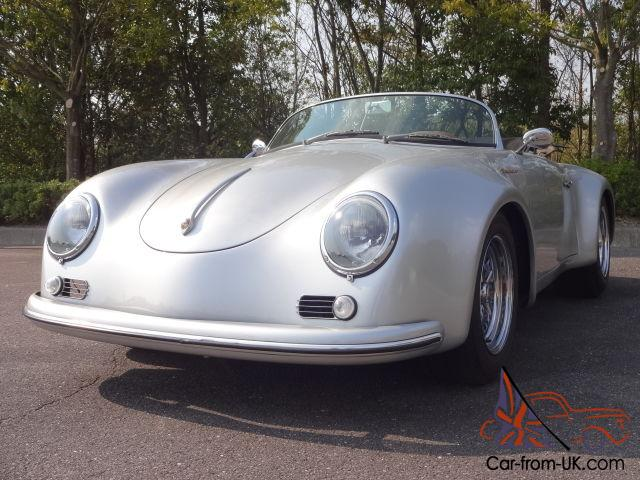 1957 Porsche 356 Speedster With An Air Conditioner Wide Body