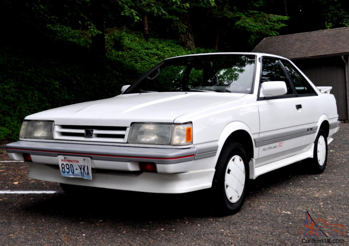 1989 Subaru Leone RX All Wheel Drive Turbo Survivor ...