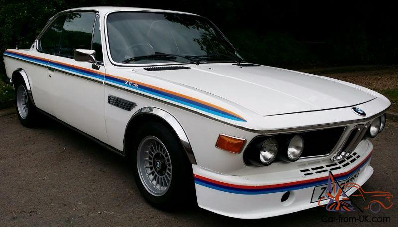 Bmw E9 3 0 Csl Excellent Condition Throughout Years