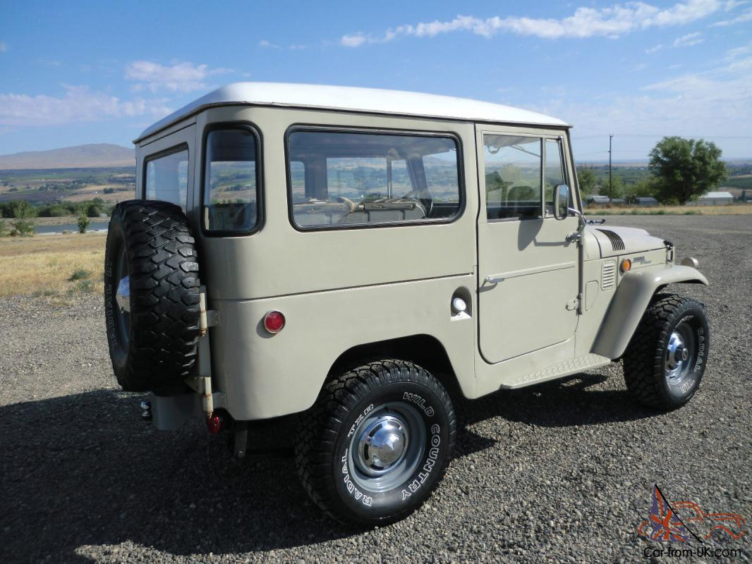 1969 toyota land cruiser fj40 no reserve original stock fj 40 landcruiser fj45