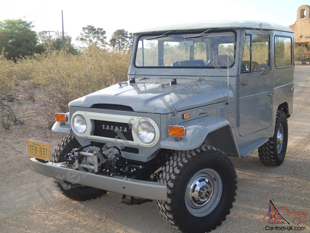 1973 Toyota Land Cruiser Fj40 1973 Toyota Land Cruiser