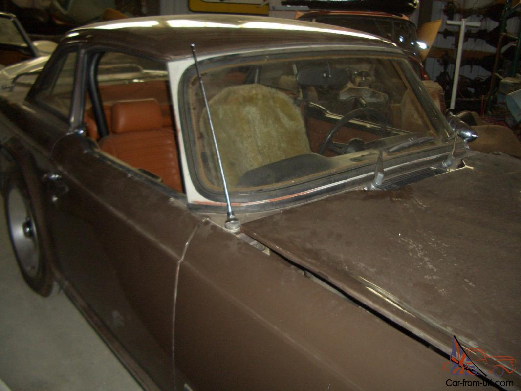 1973 tr6 brown with brown hardtop ac tan interior rack survivor car. Black Bedroom Furniture Sets. Home Design Ideas