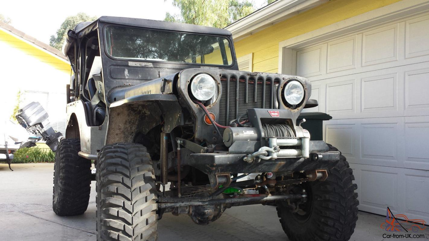 1952 Willys Cj 3a Jeep Chevy Small Block Custom Dana 44 And Ford 9 1950 For Sale