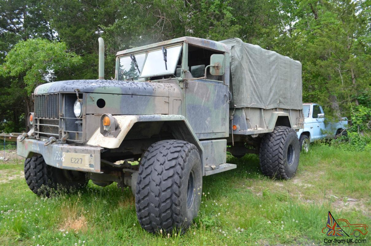 1972 Bobbed Deuce and a Half Military Truck