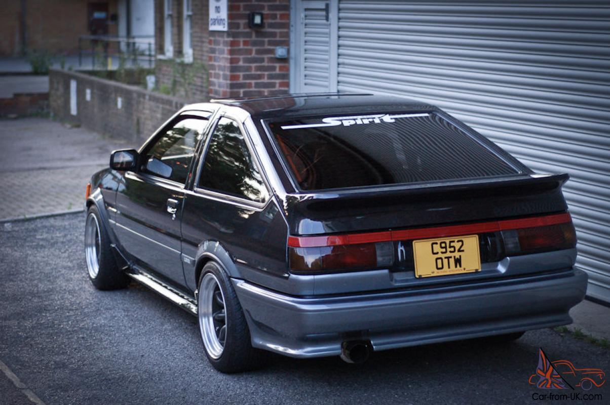 toyota corolla levin ae86 in racing drift fast road spec 1976. Black Bedroom Furniture Sets. Home Design Ideas
