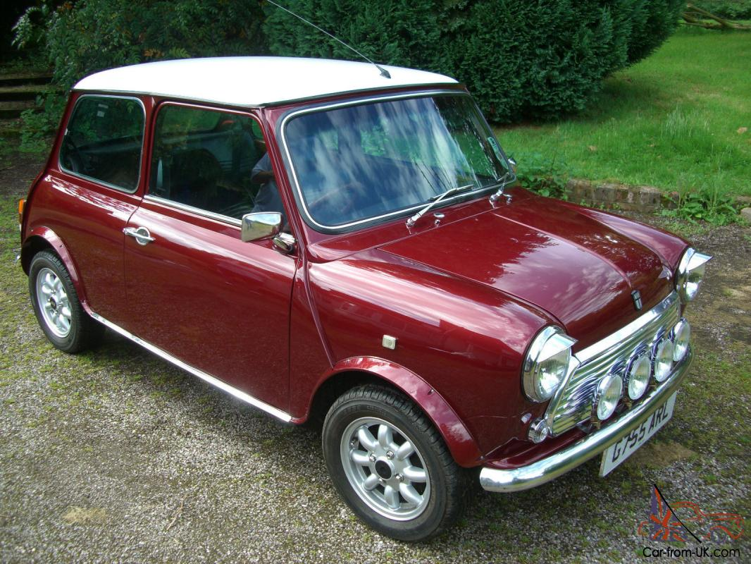 Classic 1989 Austin Mini Thirty 30 Cherry Red Enthusiast Owned Superb