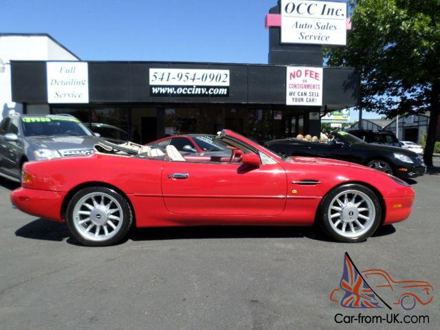 1997 aston martin db7 convertible. Black Bedroom Furniture Sets. Home Design Ideas