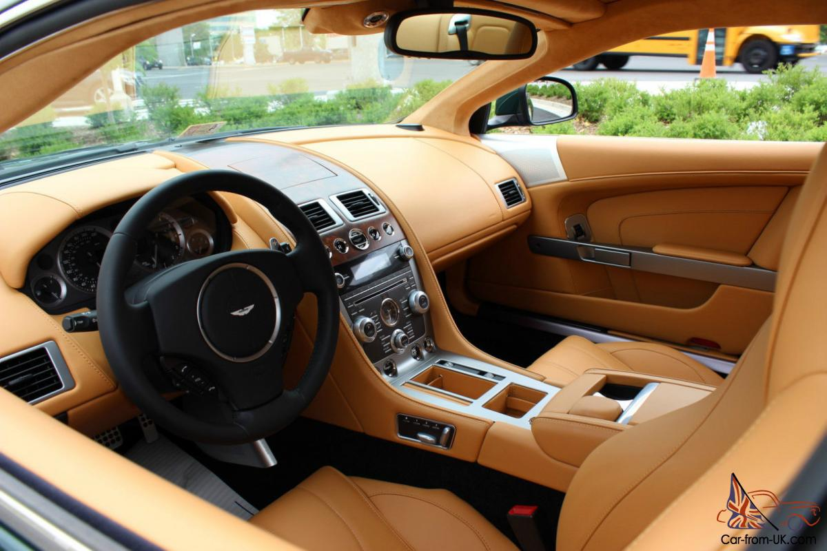 2014 aston martin db9 rover british racing green sahara tan 28k options. Black Bedroom Furniture Sets. Home Design Ideas