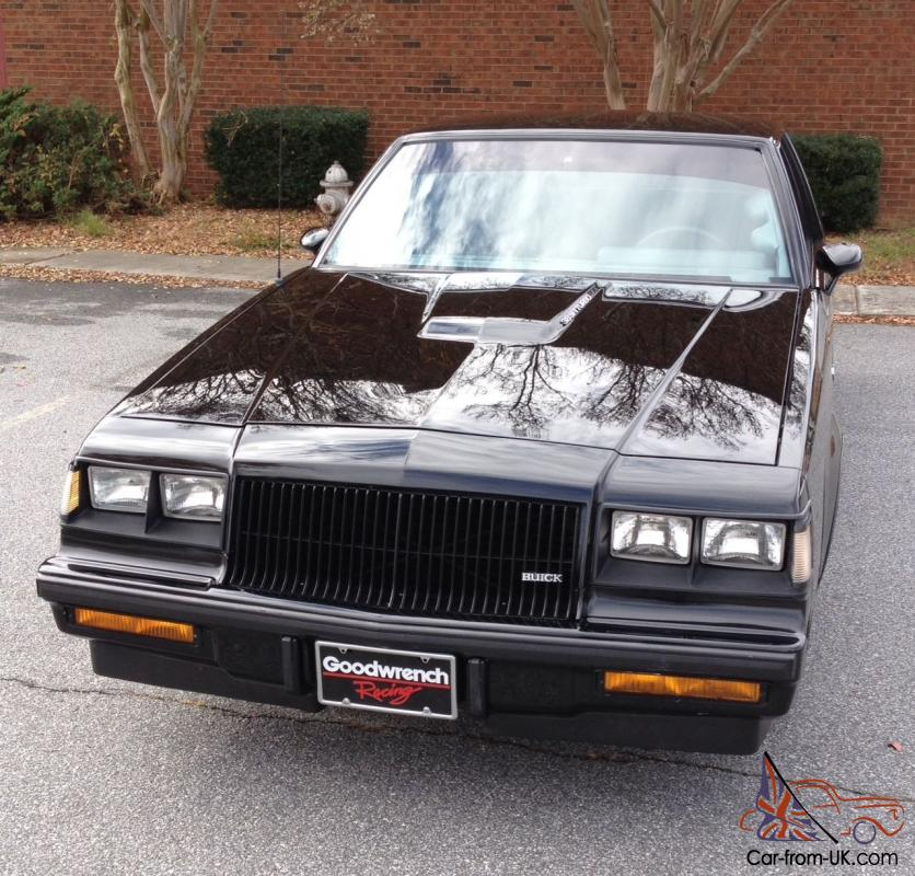 1987 Buick Regal For Sale: 1987 Buick Grand National Rust Free Florida Buick Turbo