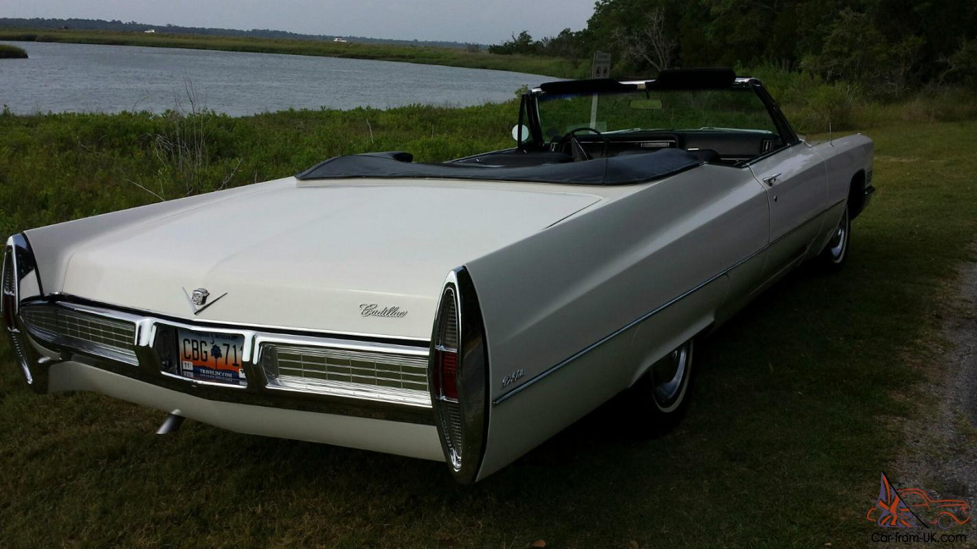 1967 cadillac deville base convertible 2 door 7 0l one. Black Bedroom Furniture Sets. Home Design Ideas