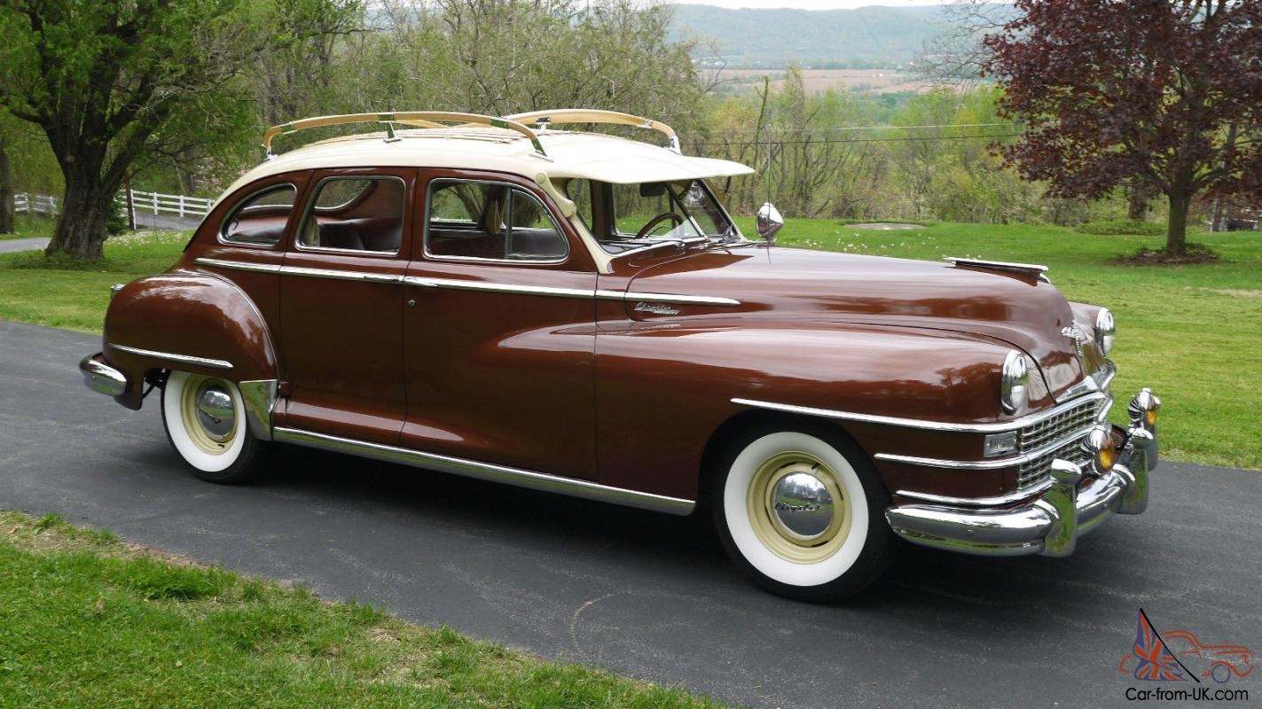 1948 Chrysler Traveler Dodge Desoto Plymouth Mopar