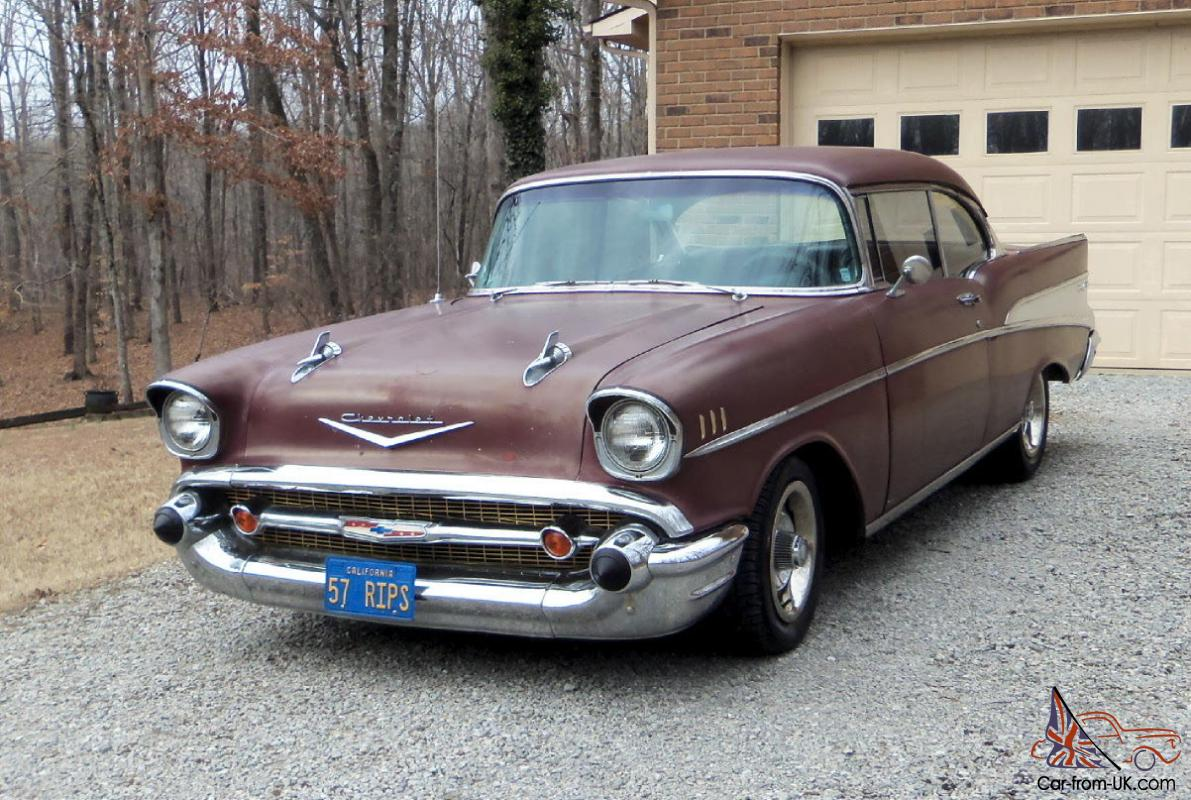 1957 chevrolet belair 2 door hardtop v8 for 1957 chevy belair 2 door