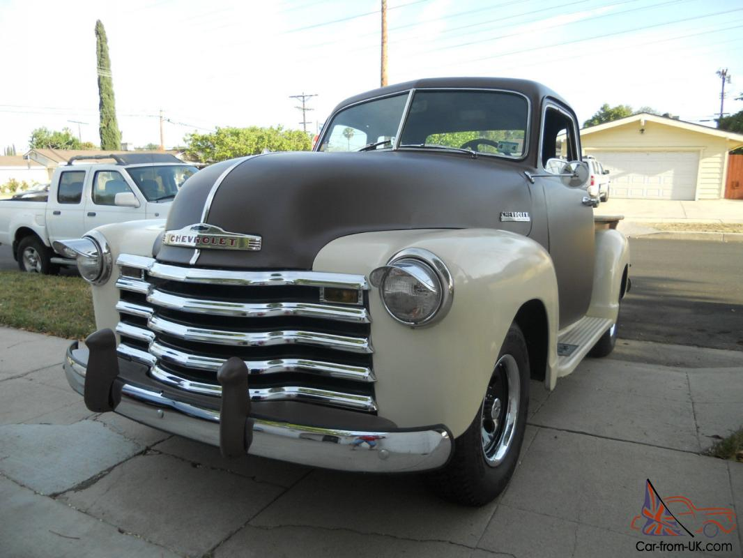1949 5 window chevy truck thriftmaster all steel hot rod street rod fresh built. Black Bedroom Furniture Sets. Home Design Ideas