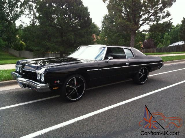 1973 black chevy impala. Black Bedroom Furniture Sets. Home Design Ideas